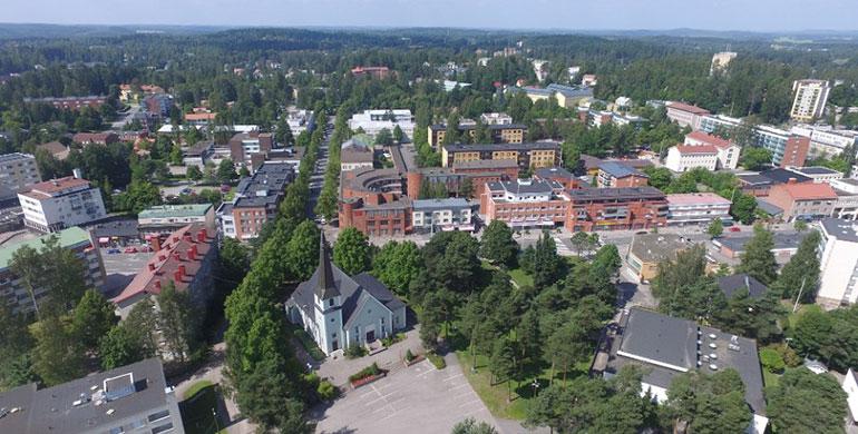 Пуховое производство Joutsen в Финляндии находится в городе Риихимяки