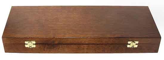 Набор для чистки оружия в деревянной шкатулке для 12 калибра