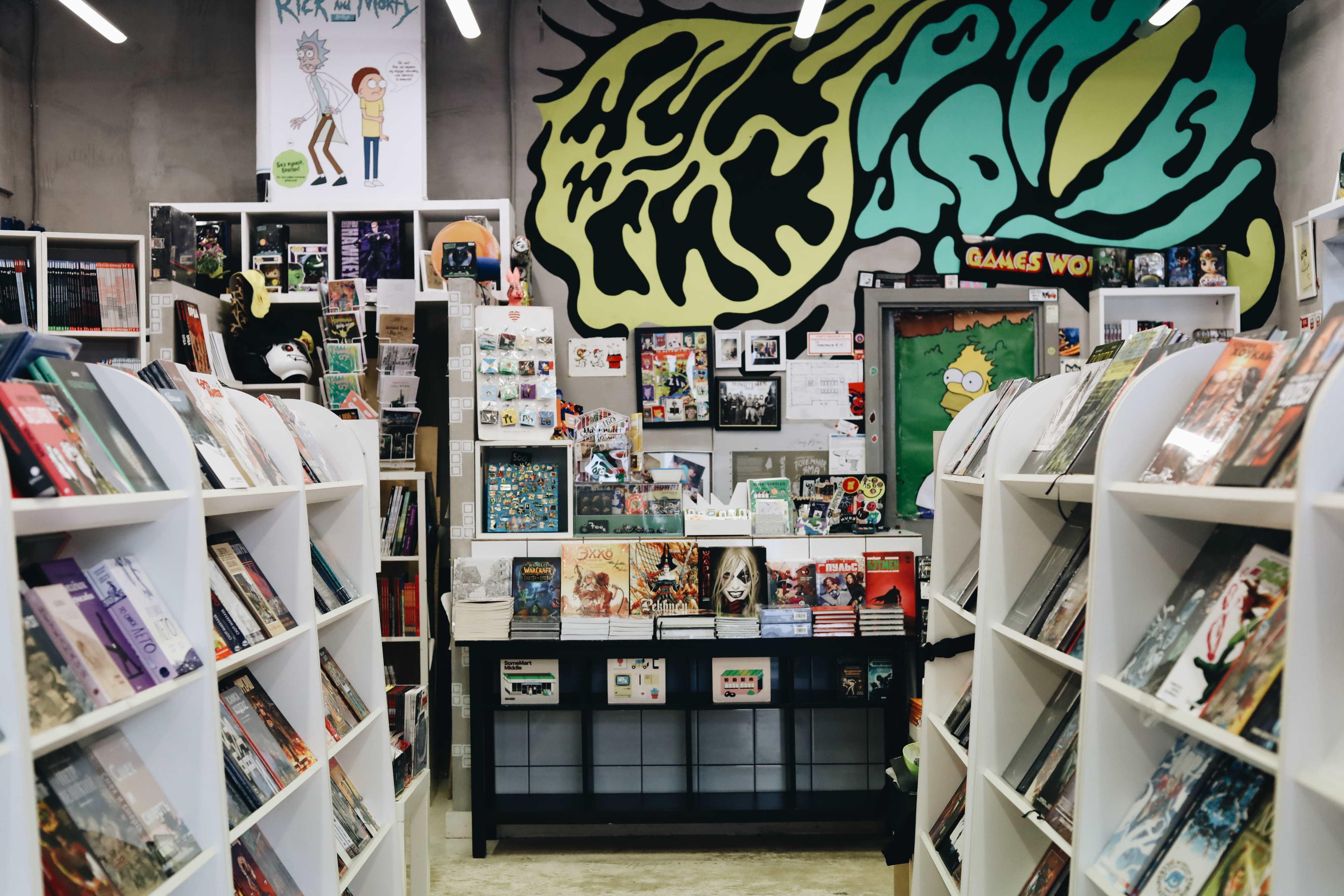 Магазин на Новодмитровской улице