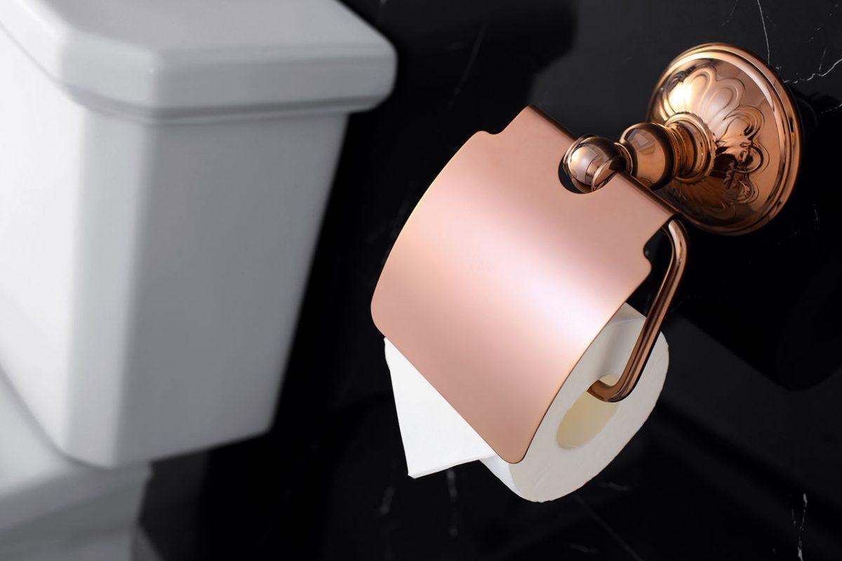 Качественный держатель туалетной бумаги