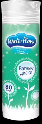 Диски ватные Waterflow 80