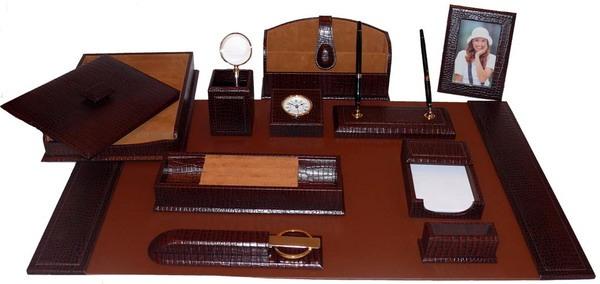 Кожаный набор для руководителя