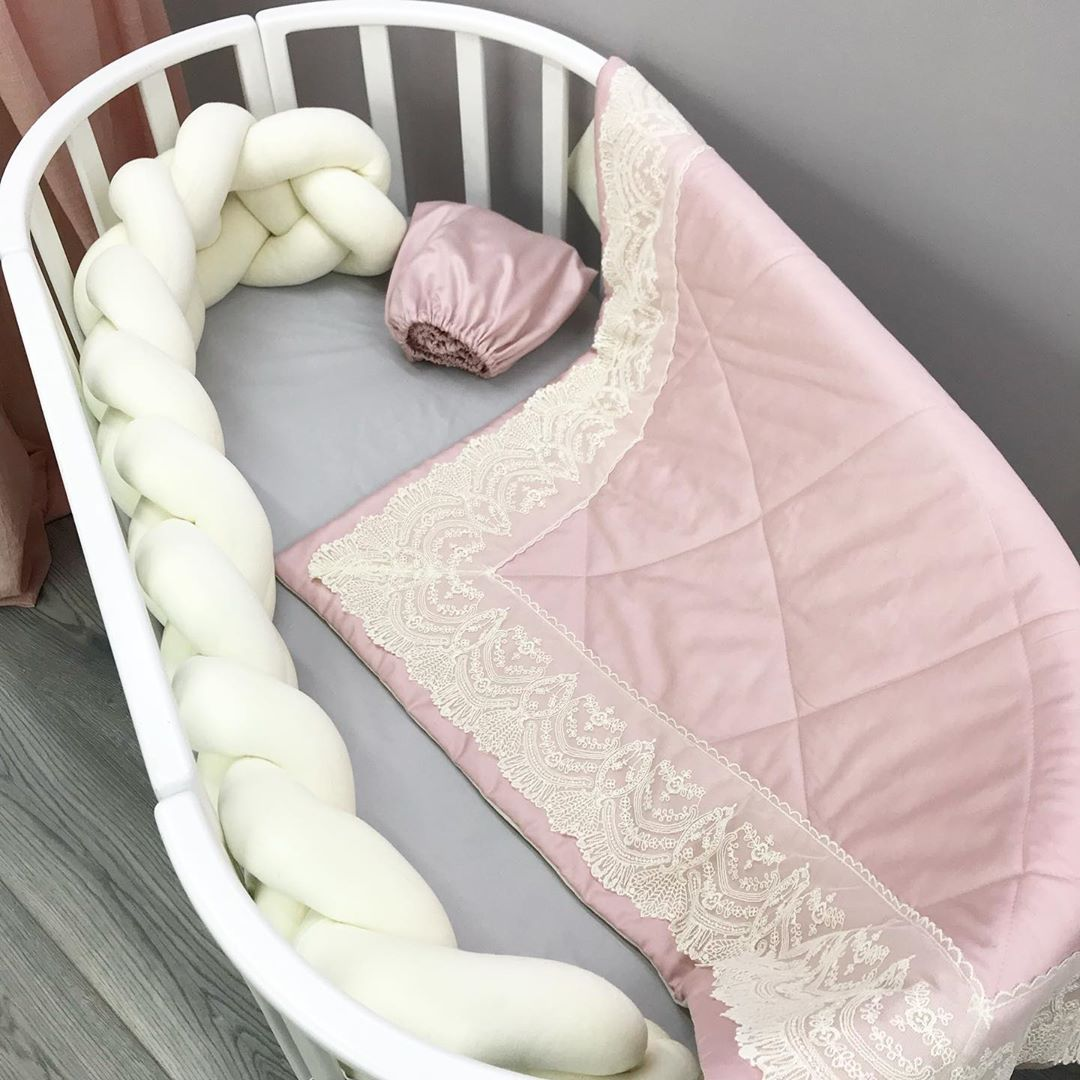 Купить розовое одеяло для девочки