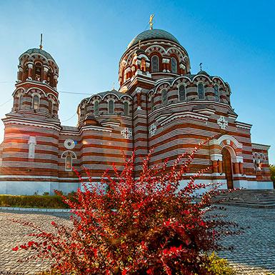 Троицкая церковь в Щурове, архитектор М.К. Геппенер