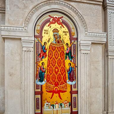 Икона Божией Матери Прибавление Ума в Троицкой церкви