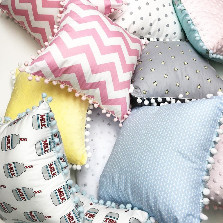 Подушки для домашнего декора