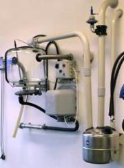 Молочная колба/линия с молочными насосами для молокопровода SAC