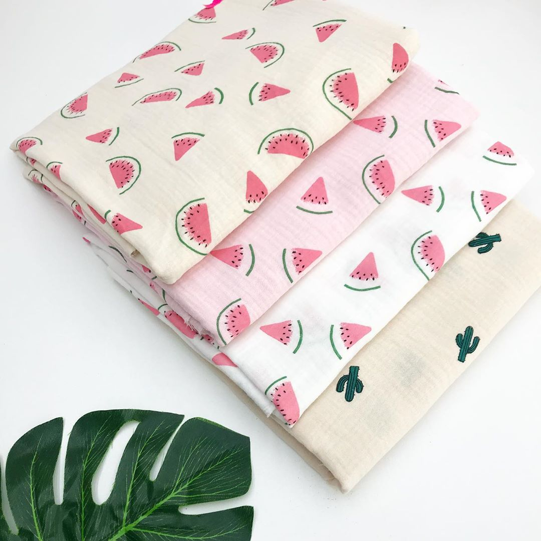 Муслиновая ткань для пеленок новорожденным