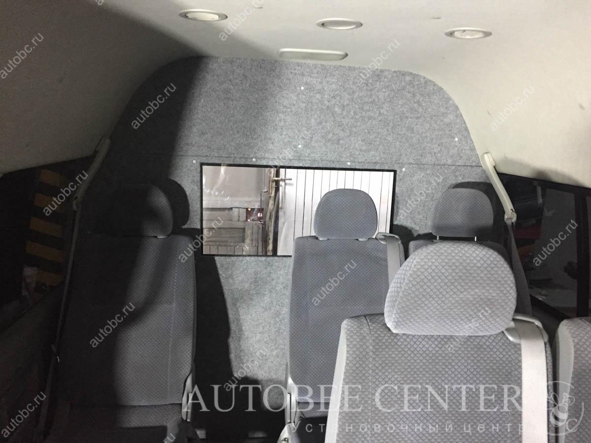 Toyota HiAce (переоборудование из категории D в B)