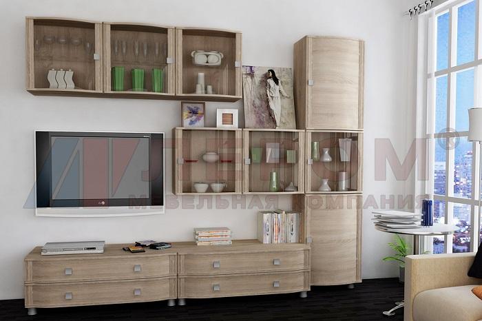 ОЛИВИЯ Мебель для гостиной Дуб сонома