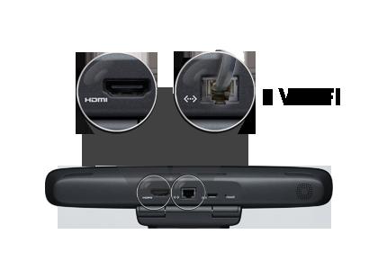 Готова к использованию с любыми ТВ высокой четкости, оборудованными HDMI