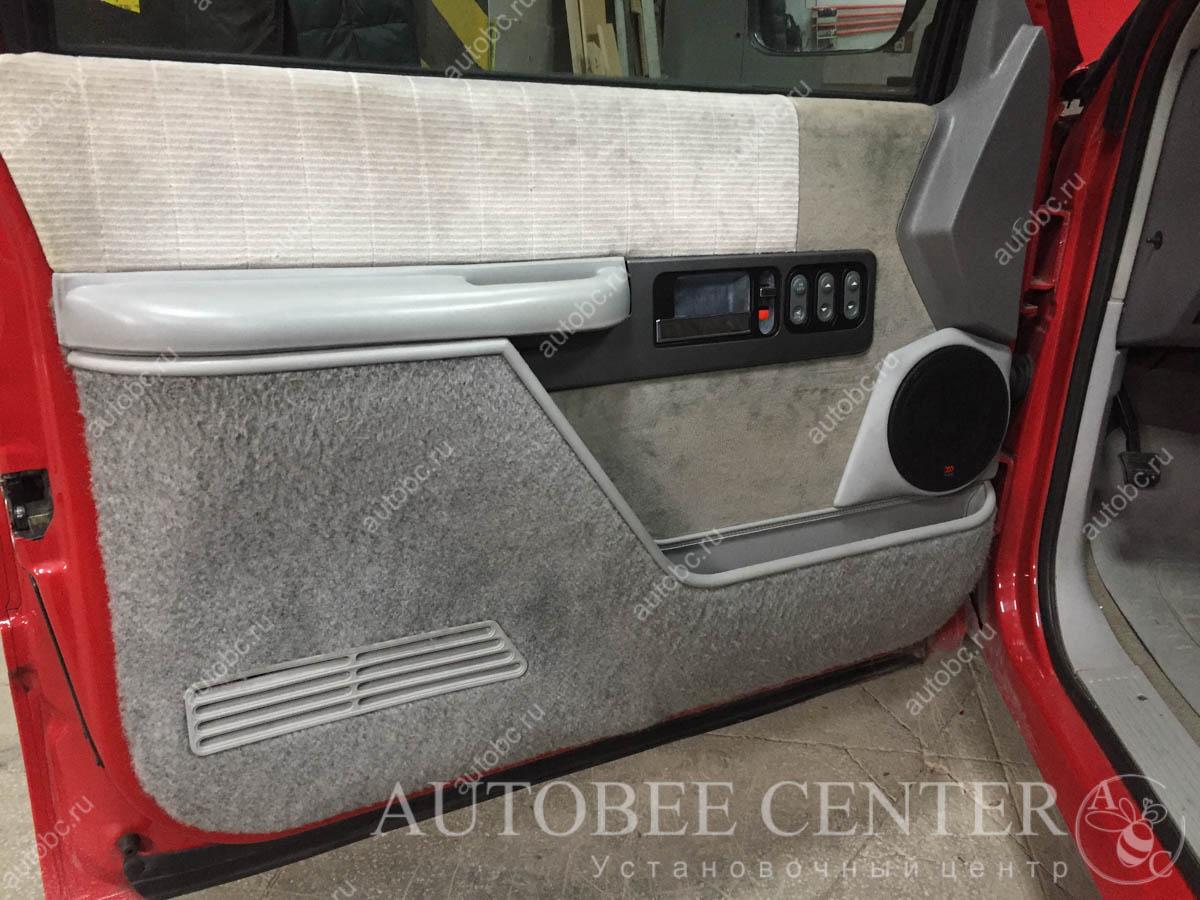 изготовление подиумов под акустику в Авто Би Центре