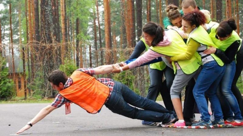 Спортивный тимбилдинг