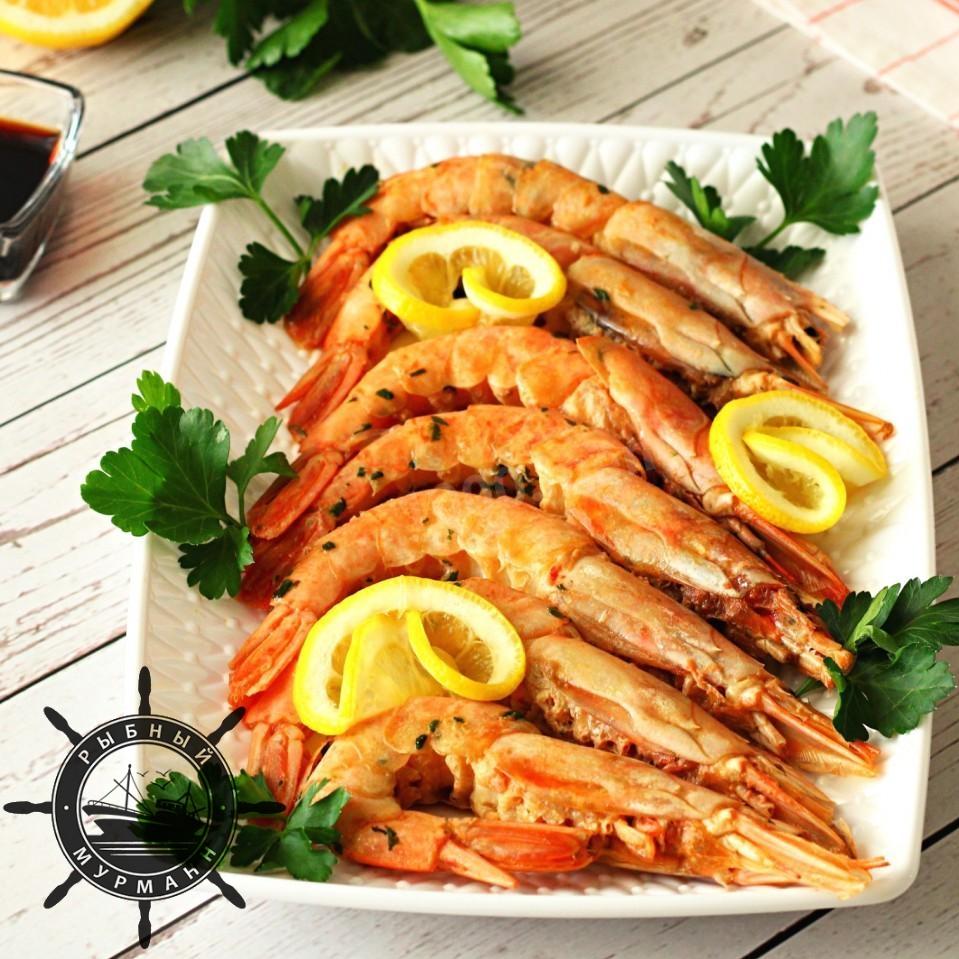 Лангустины в духовке - от Рыбного Мурманна!