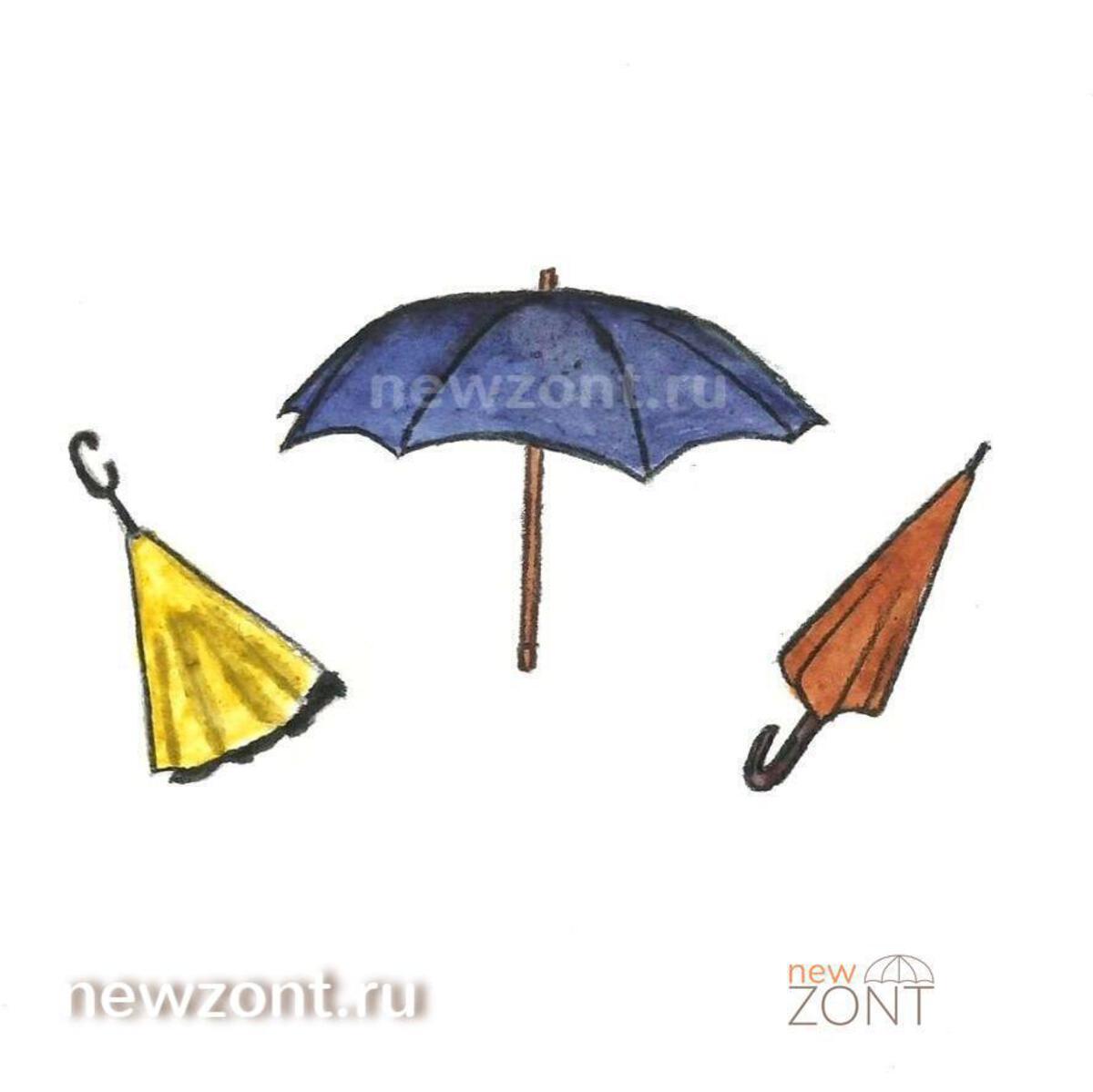 история появления зонтов
