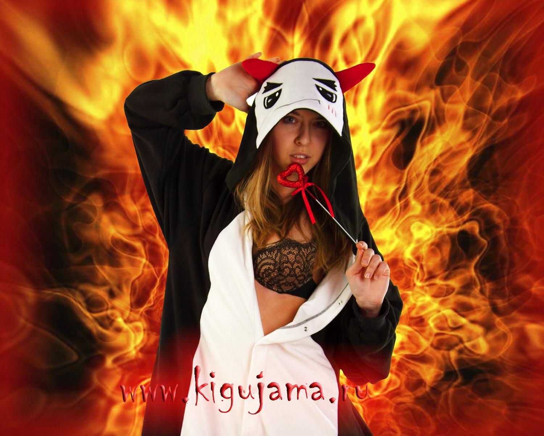 пижама кигуруми Дьявол (Чертенок)