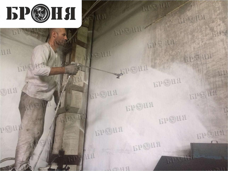 Волгоград. Утепление потолка и стен цеха металлоизделий