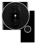 Оптический датчик с разрешением 2500 точек на дюйм