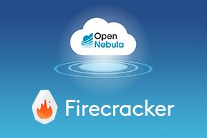 OpenNebula on Firecracker