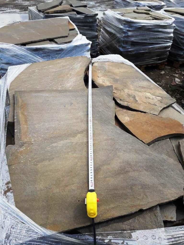 Песчаник плитняк для облицовки