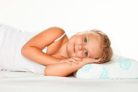 Ортопедические подушки под голову для детей