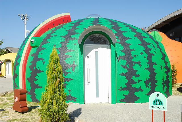 Купольный дом- арбуз