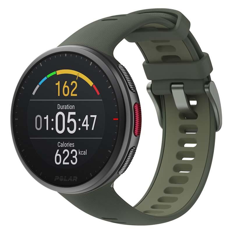 Часы Polar Vantage V2 зеленого цвета