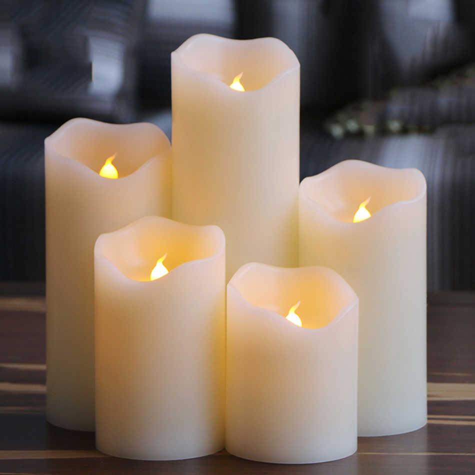 Большие светодиодные свечи
