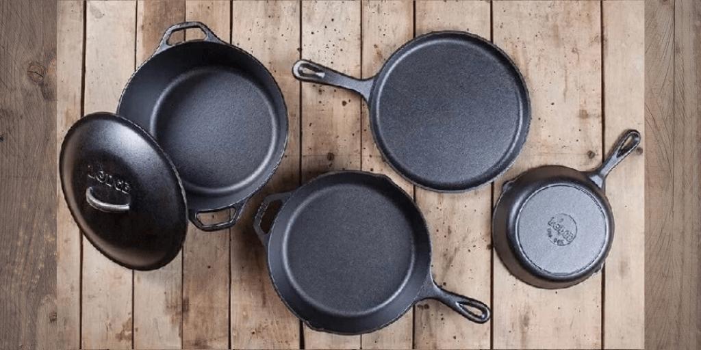 LODGE - чугунная посуда и силиконовые аксессуары к ней