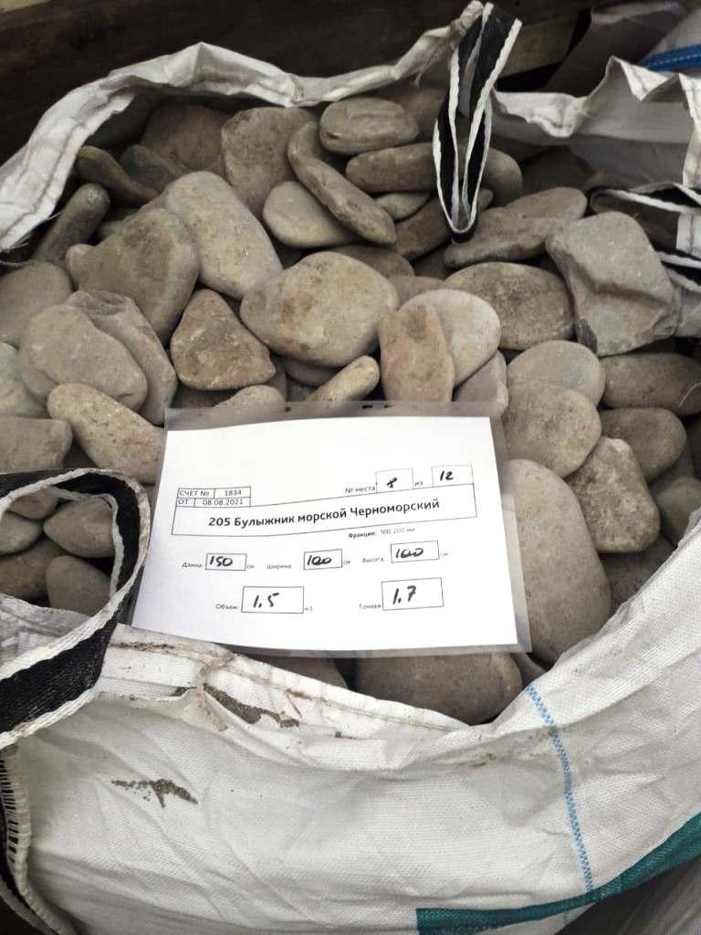 Плоский морской камень