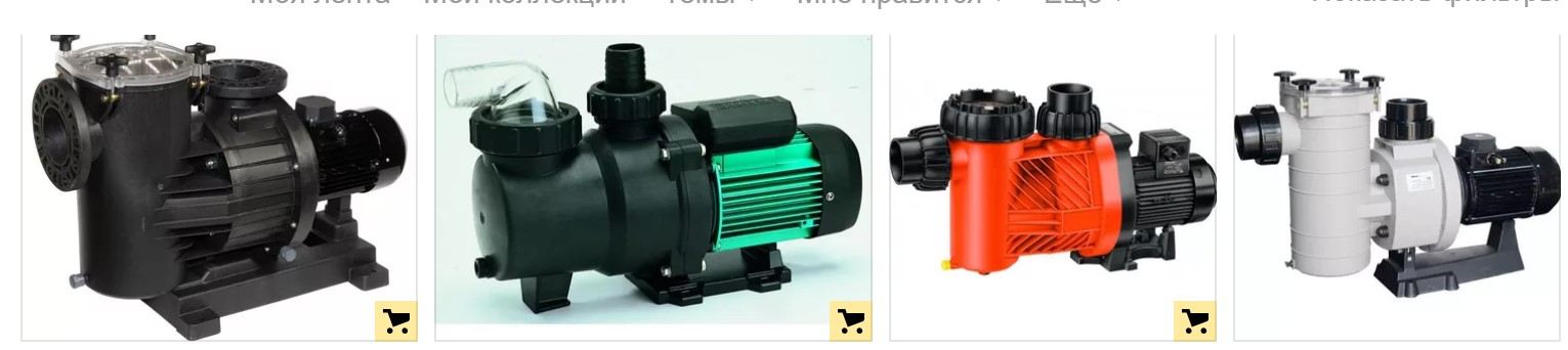 Фильтр насос для бассейна модели