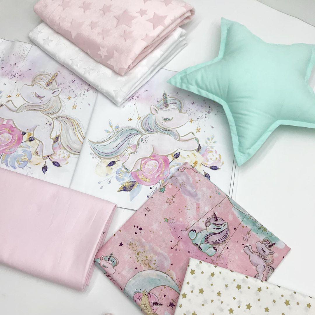 Купить ткани для пошива бортиков девочке