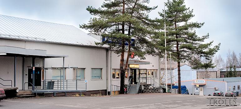 Фабрика и магазин Joutsen в Рийхимяки