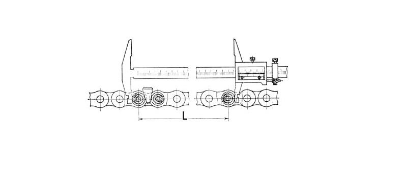 Как измерить износ цепи штангенциркулем