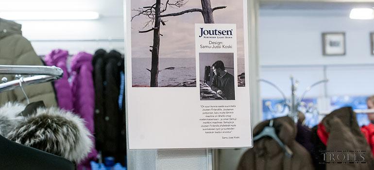 Дизайнерская коллекция пуховиков Joutsen
