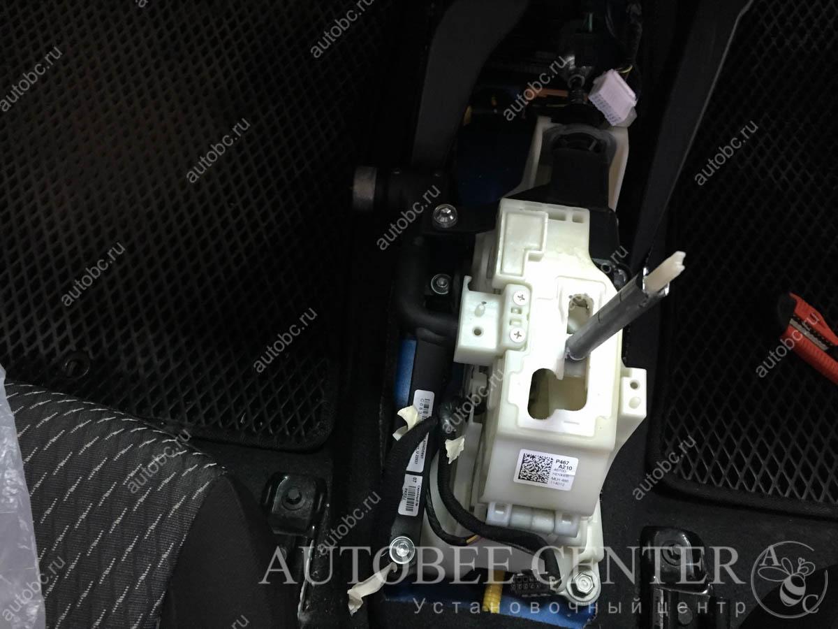 Kia Rio X-Line (блокиратор коробки передач)