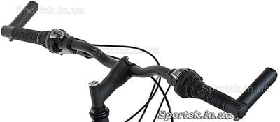 Кріплення велосипедних рогів у торцях керма
