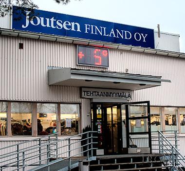 Магазин Joutsen при фабрике в Риихимяки
