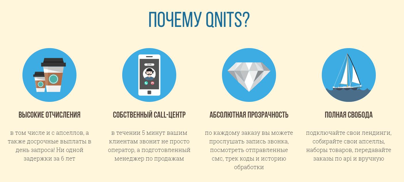 Партнерка от Qnits