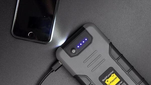 LED фонарь пускового устройства Berkut JSL 2000