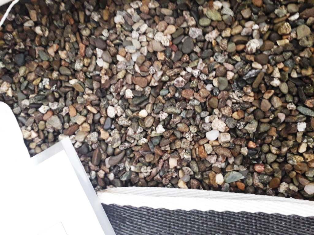 Галька камень речной Серый