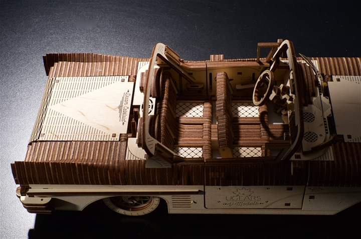 Кабриолет мечты VM-05 (Ugears)