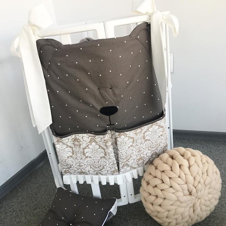 Органайзер на детскую кроватку