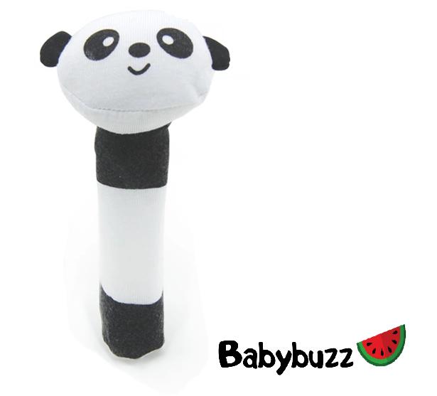 """Погремушка """"Веселые зверята"""" Панда Babybuzz"""