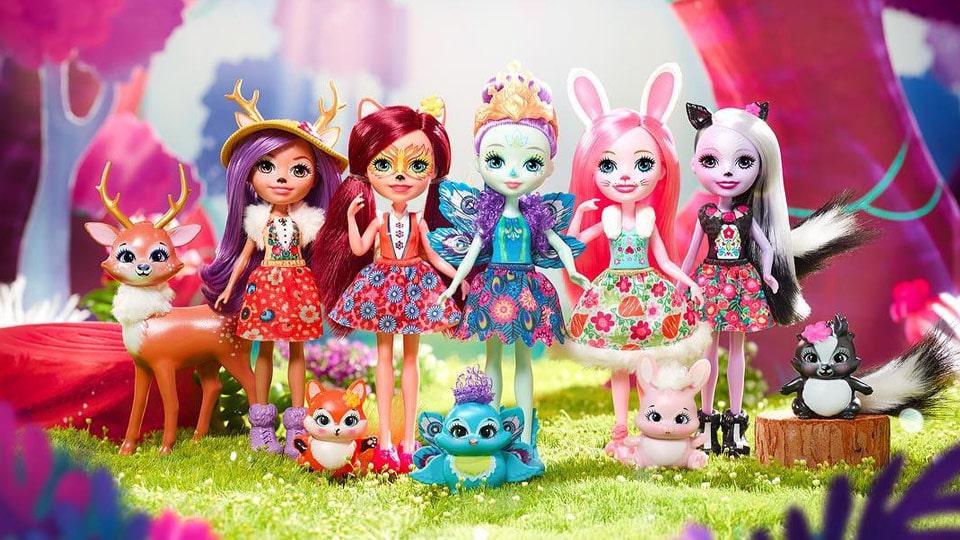 Куклы Enchantimals (Энчантималс)