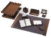 кожаный набор для стола