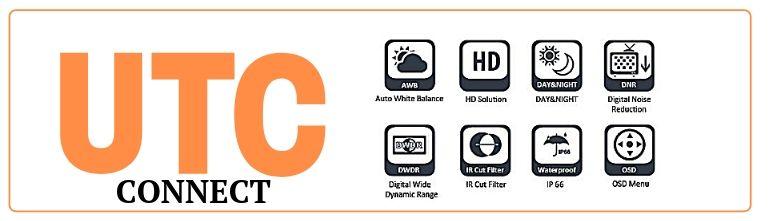 Видеокамеры CAICO TECH UTC интерфейс управления камерами