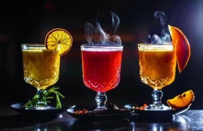 пунши из рома и коктейли