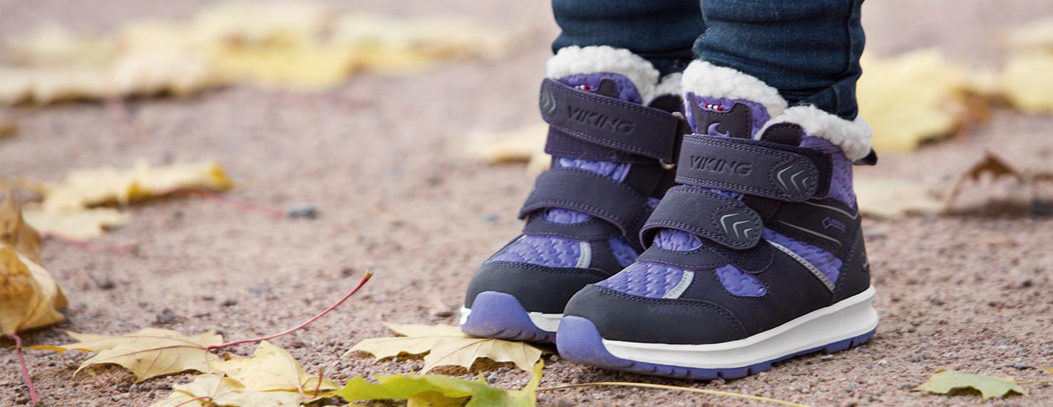 Зимняя и демисезонная обувь Viking со скидкой!