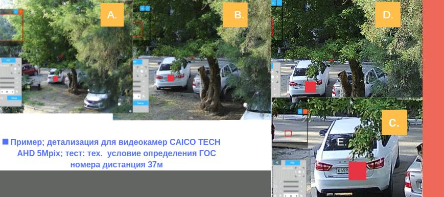 CAICO TECH CCTV AHD  5 Mpix